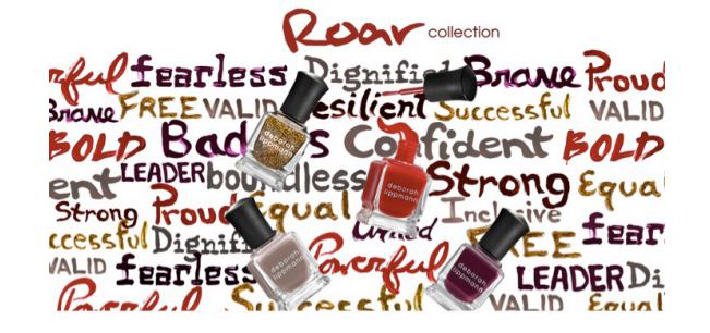 Deborah Lippmann - Roar Collection