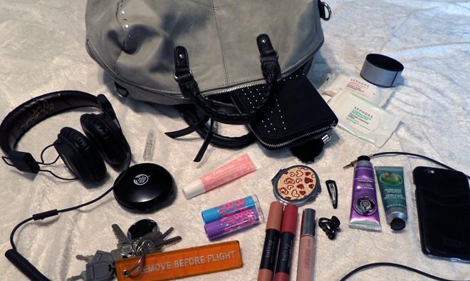 I din handväska