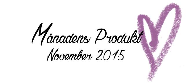 Månadens Produkt - November 2015-01