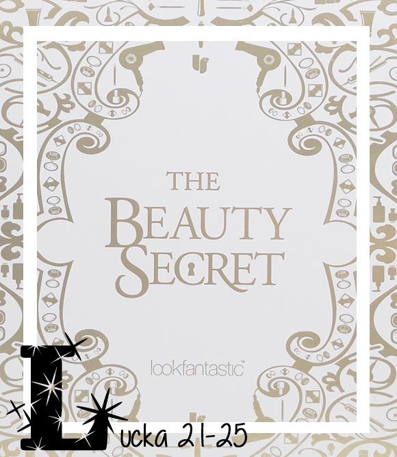 Lookfantastic - The Beauty Secret Lucka 21-25