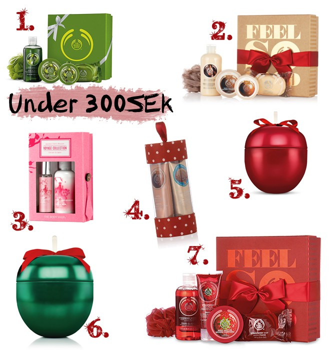 The Body Shop - Under 300SEK