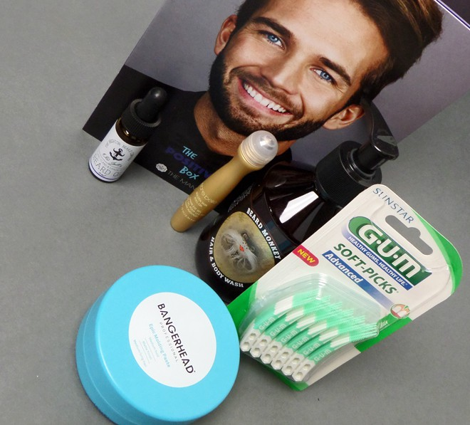 Glossybox - The Man box