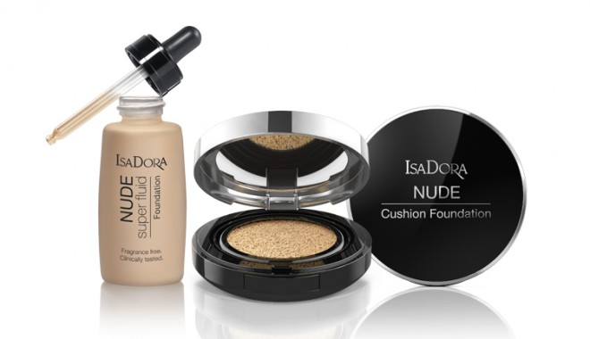 Isadora - Nude Super Fluid & Nude Cushion