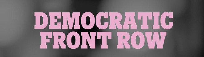 DEMOCRATIC FRONT ROW