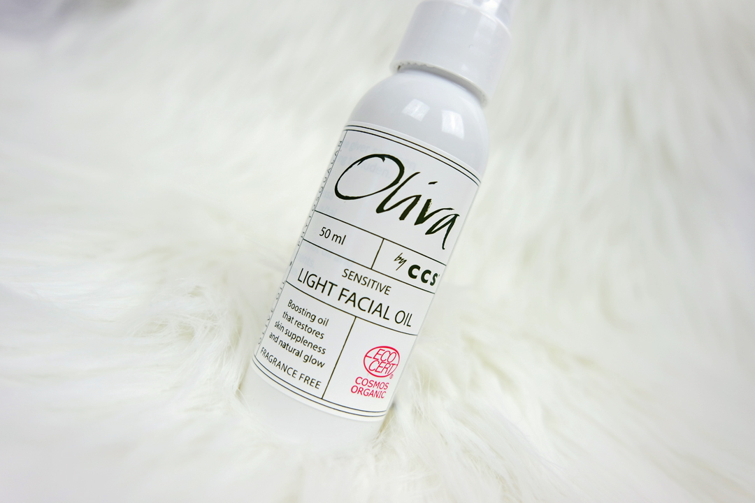 Oliva by CCS Sensitive Light Facial Oil