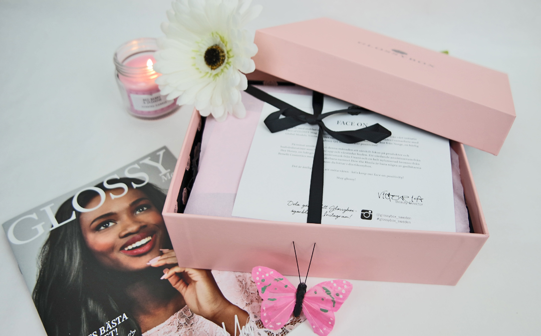 Glossybox April Face On