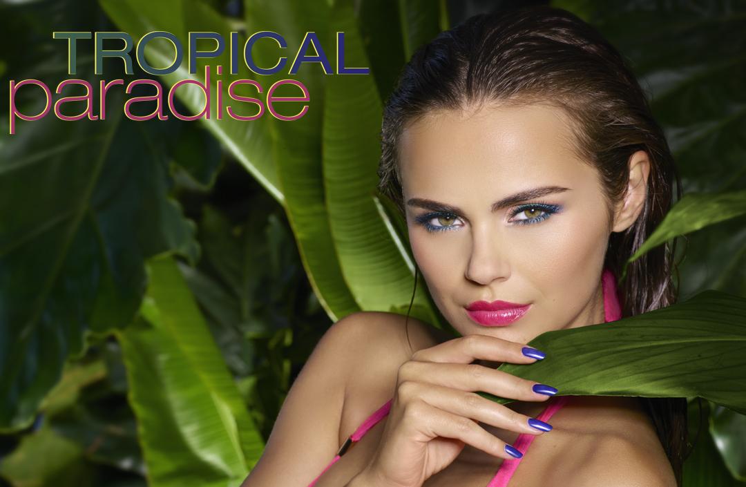 Isadora Tropical Paradise - Ögon