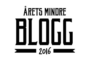 Nominerad i Årets mindre blogg