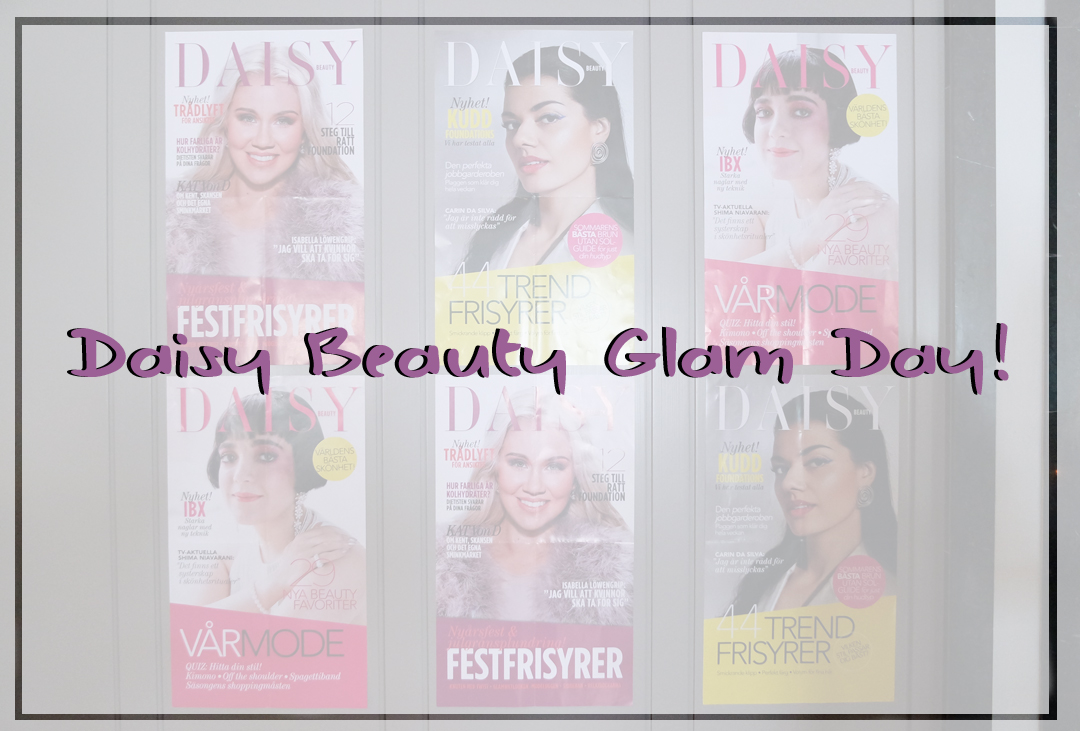 Daisy Beauty Glam Day!