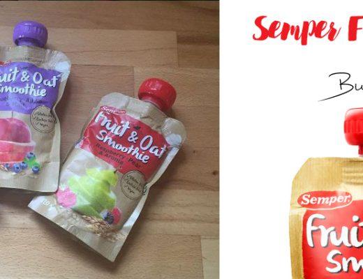 Semper Fruit & Oat Smoothies