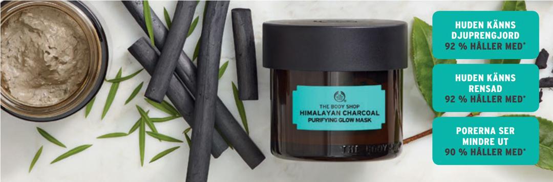 The Body Shop lanserar fem ansiktsmasker