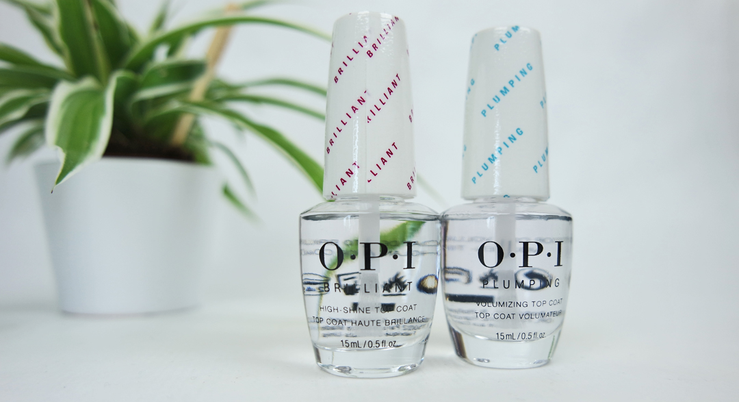 OPI Top Coats - Plumping & Brilliant