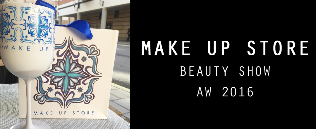 Front row på Make up Store Beautyshow-
