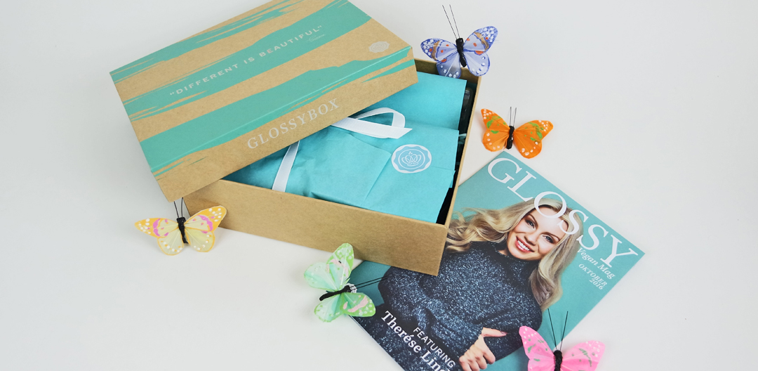 Glossybox Vegan Edition featuring Therese Lindgren
