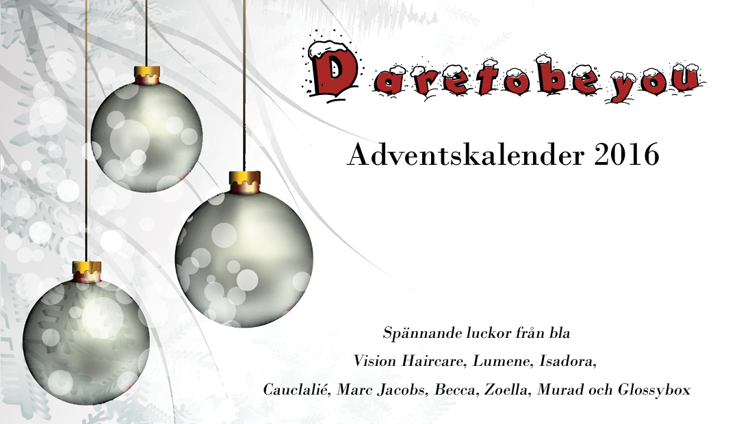 Dare to be you - Adventskalender 2016