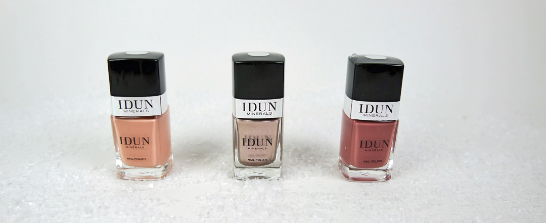 Vackra naglar med Idun Minerals