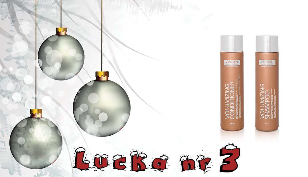 Adventskalender 2016 Lucka 3 - Vision Haircare
