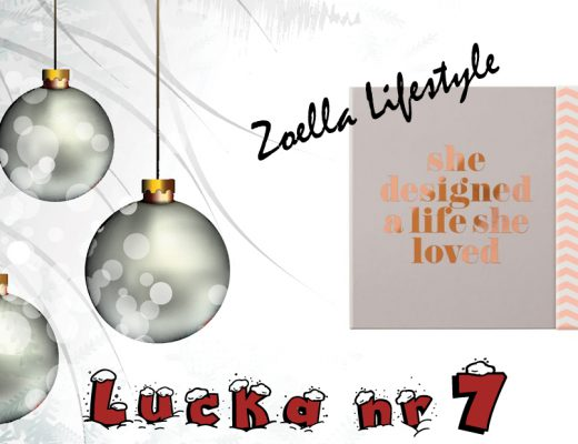 Adventskalender 2016 Lucka 7 – Zoella Lifestyle