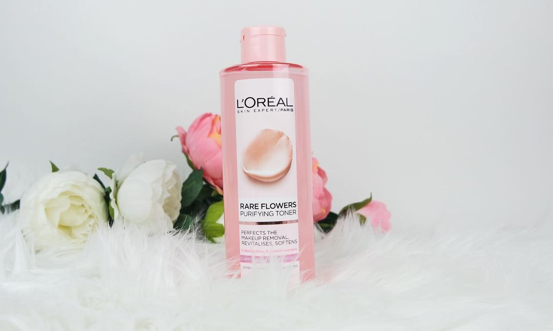 Rengöring med L'oréal Paris Rare Flowers