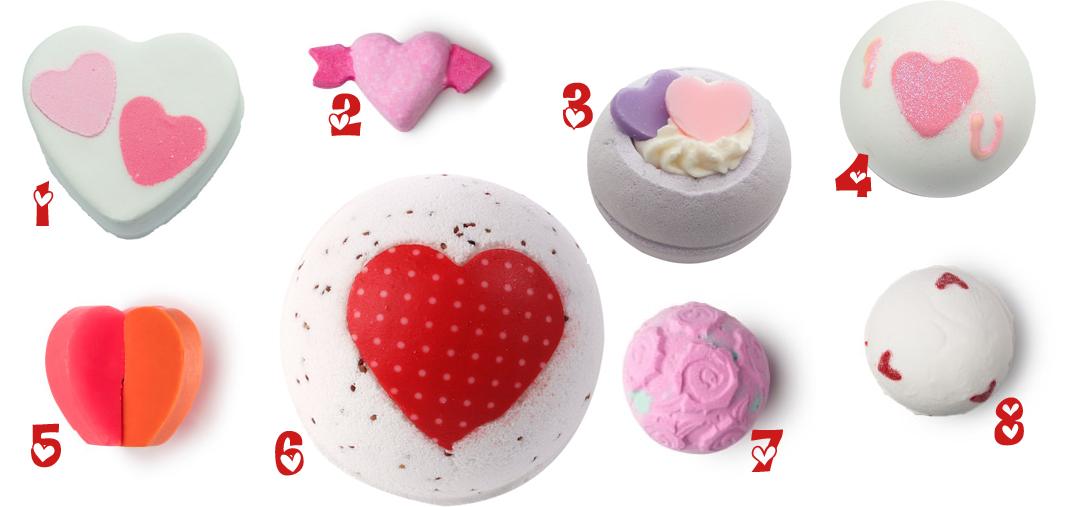 Ett romantiskt bad på Alla hjärtansdag