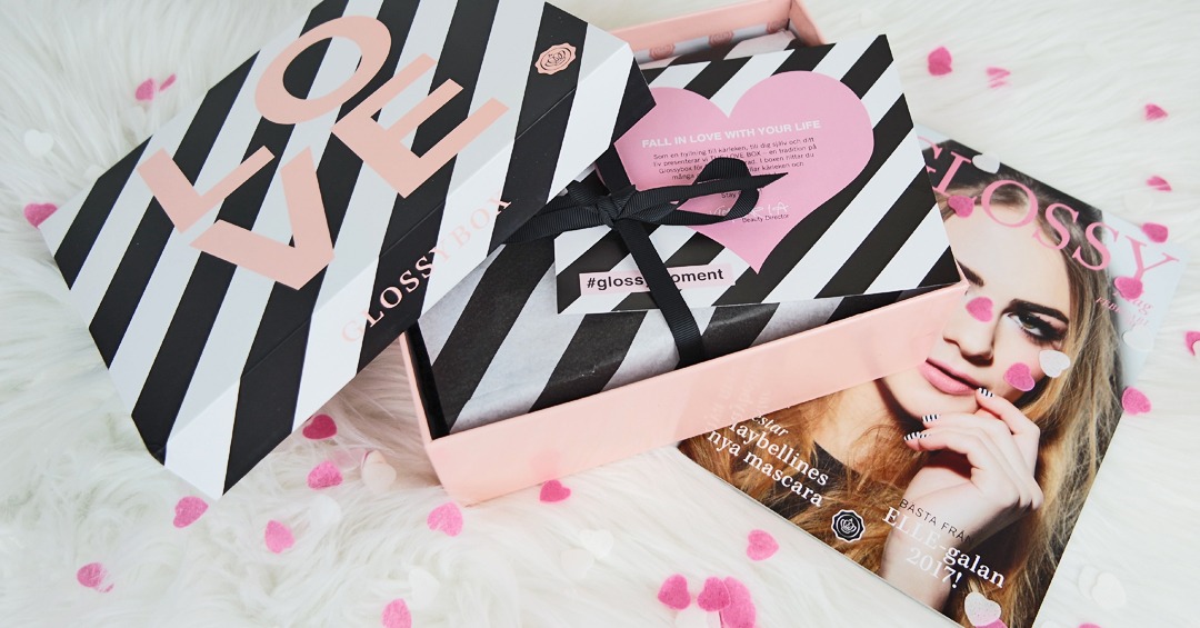 Glossybox The LOVE box
