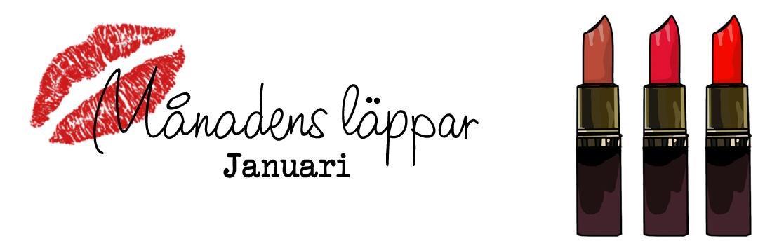Månadens Läppar Januari