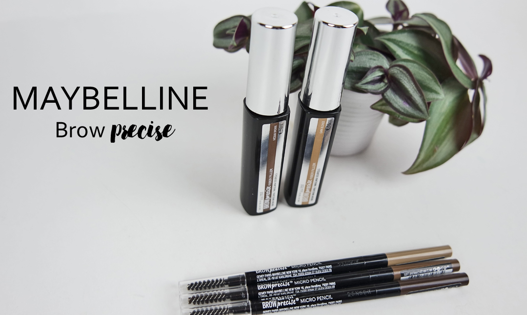Maybelline Brow Precise Fiber Filler och Micro Pencil
