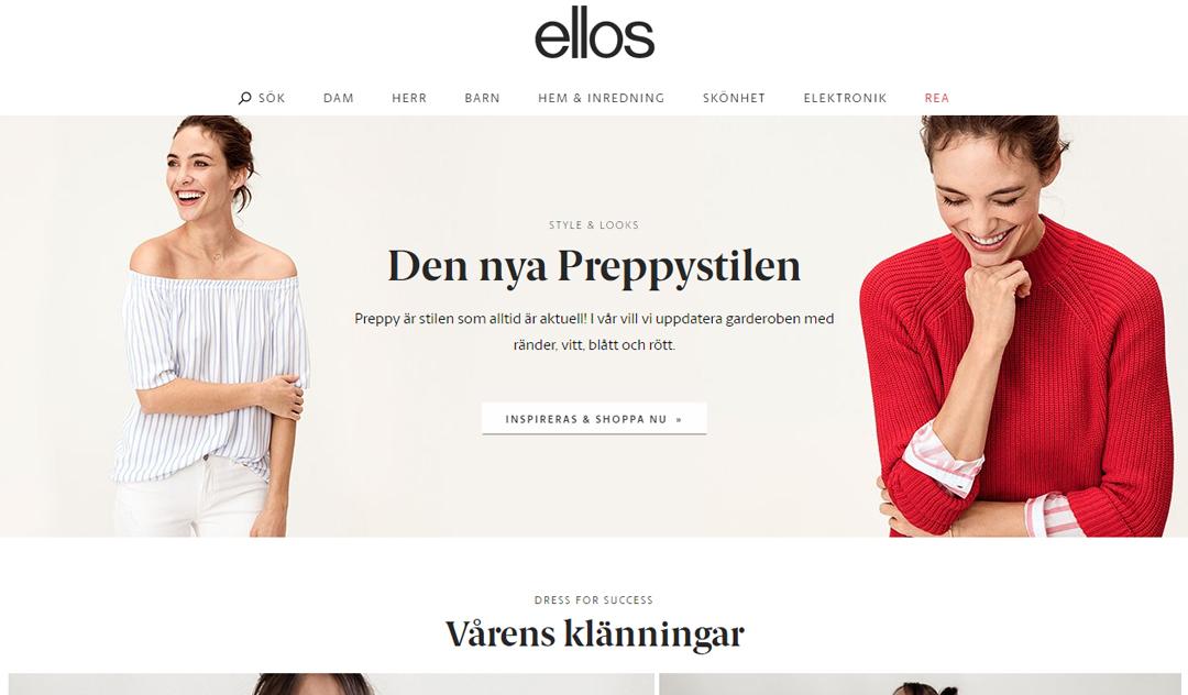 Möt våren med Ellos.se