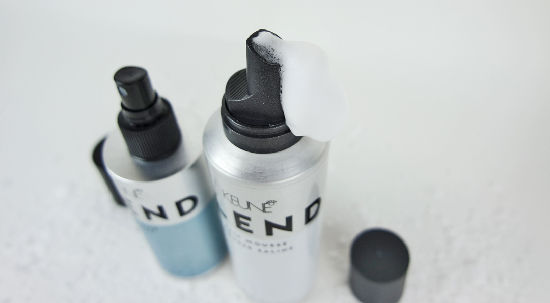 Keune Blend Sea Salt Spray goes Blend Salt Mousse