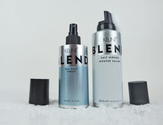 Keune Blend Sea Salt Spray goes Blend Salt Mousse