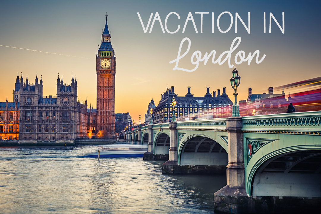 Mot London utan packning