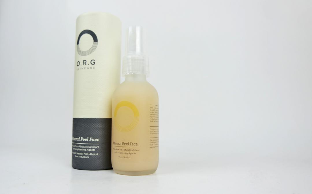 O.R.G Skincare Mineral Peel Face