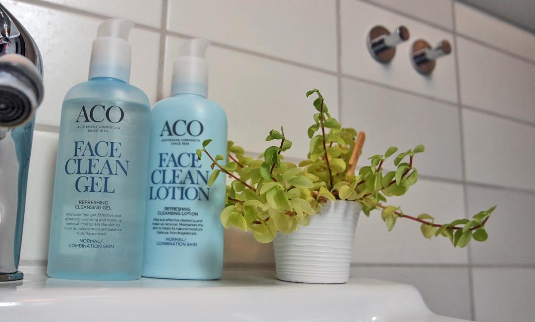 Ny rengöringsrutin med ACO, gel eller lotion?