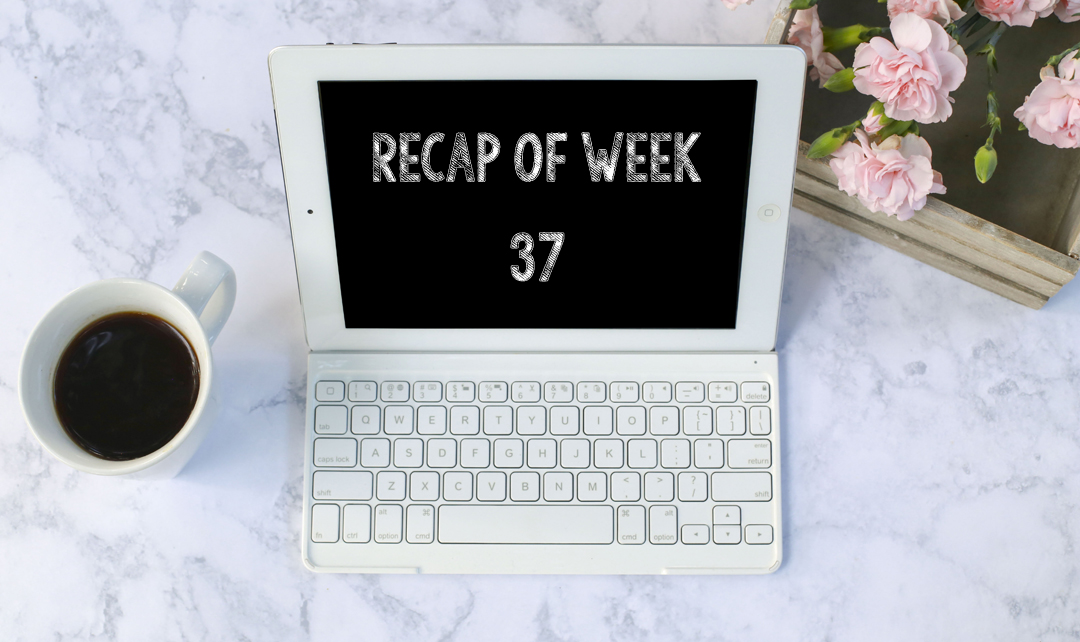 Recap of week 37