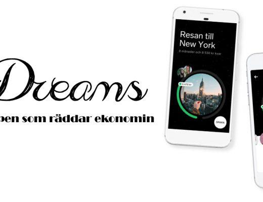 Dreams - Appen som räddar ekonomin