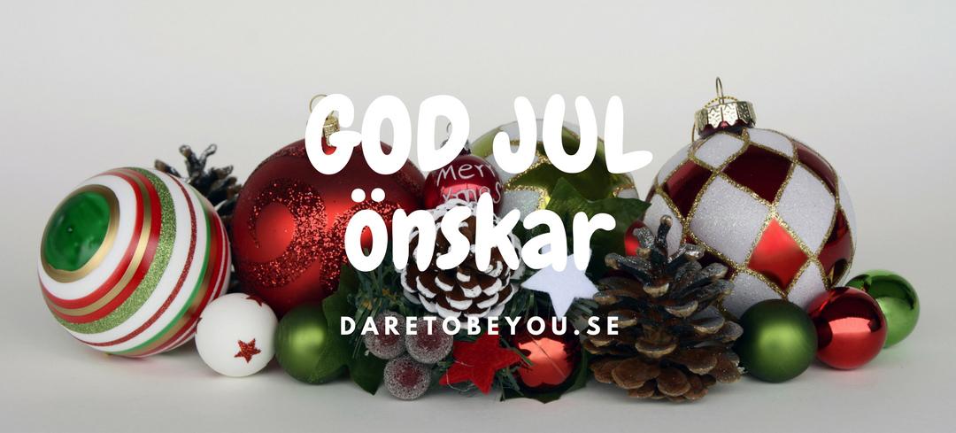 Daretobeyou.se önskar er en riktigt God Jul!