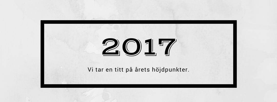 Säg hejdå till 2017 och välkomna 2018