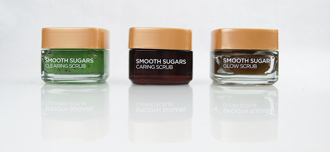 L'oréal Smooth Sugars scrubs