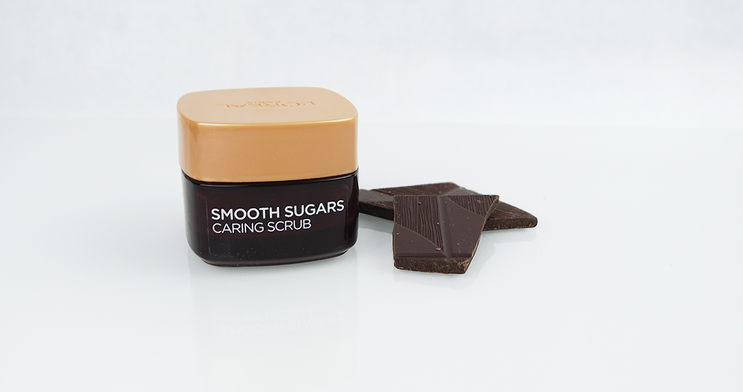 L'oréal Smooth Sugars Caring scrub - Softens, Soothes dryness