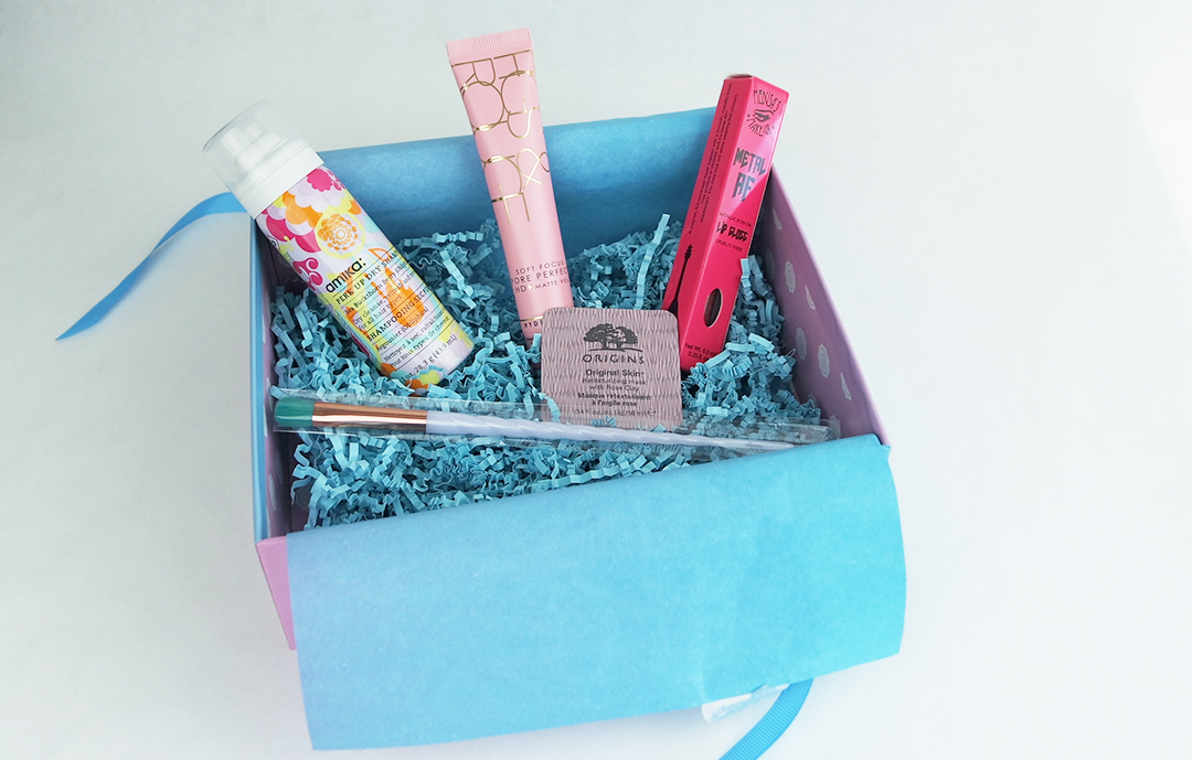Glossybox The Unicorn box
