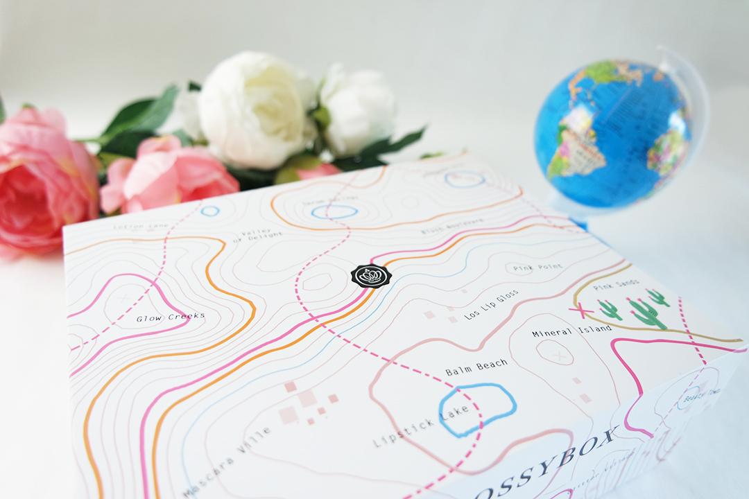 Glossybox - The Map box