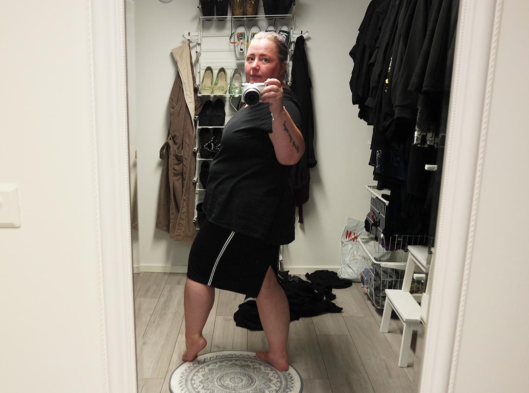 I spegeln med H&M och Gina Tricot