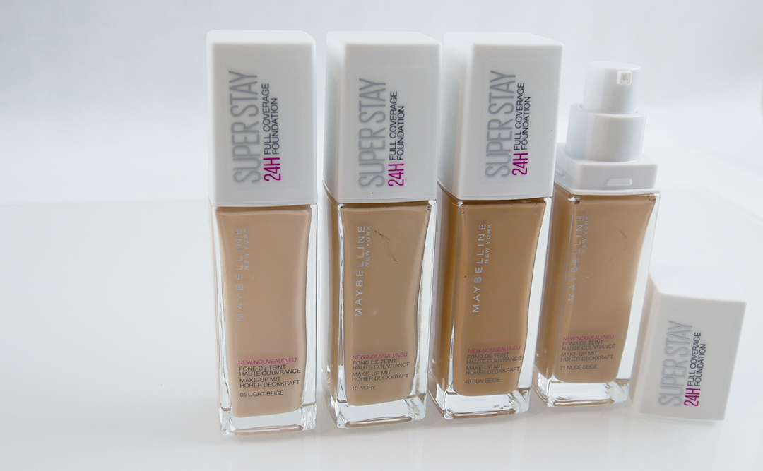 Maybelline - Superstay 24H Full Coverage Foundation