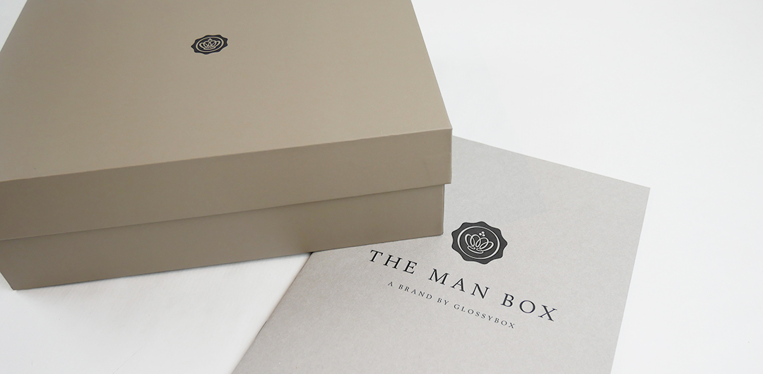 Glossybox The Man box - Autumn Boost!