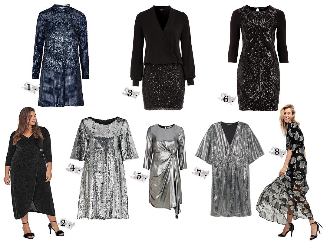 dc99768050ea ... svart glittrar snyggare än guld så det kanske är nog därför jag inte  valde några klänningar i guld detta år. Julen är guld och Nyår är silver  för mig.
