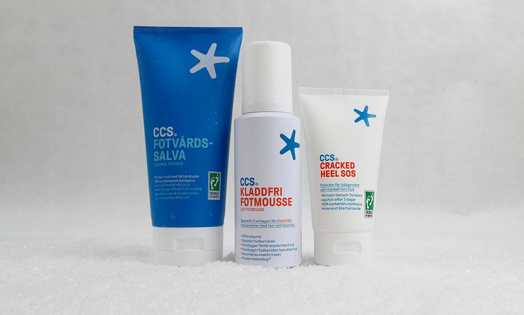 Ta hand om dina fötter och händer med CCS Healthcare