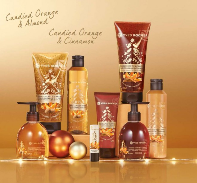 Yves Rocher Christmas Collection – Limited edition