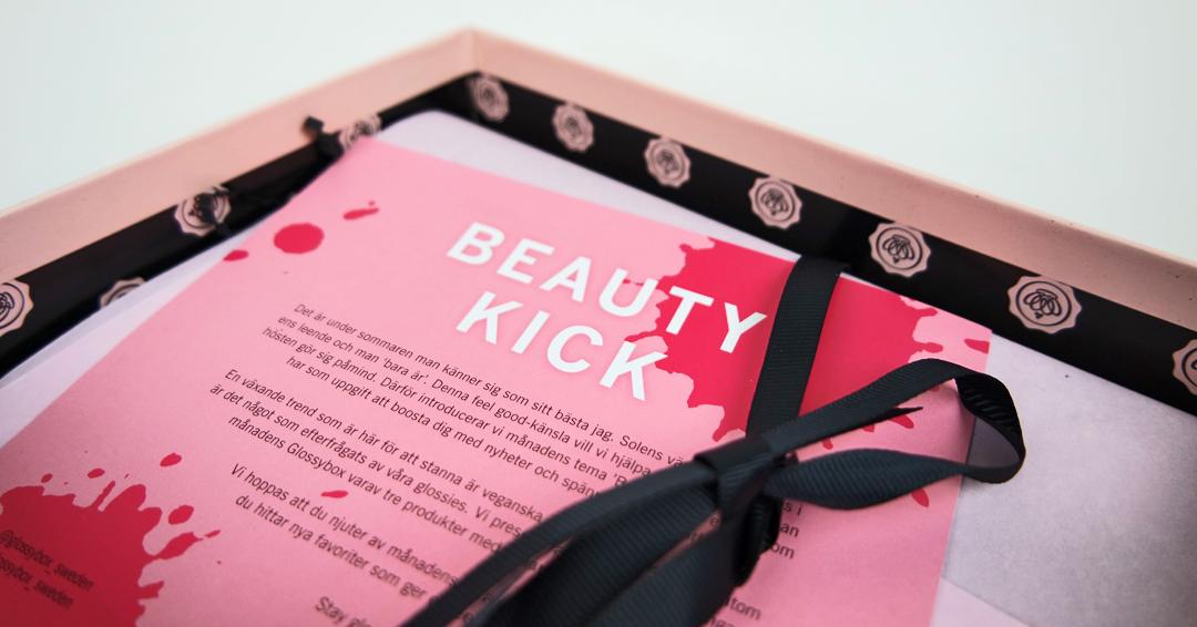 Glossybox Beauty Kick
