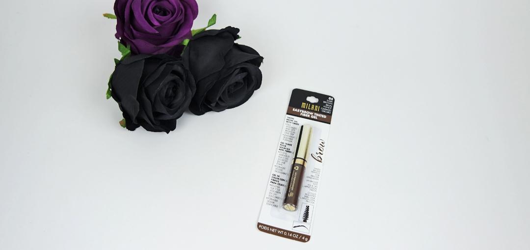 Milani Easybrow tinted fiber gel brunette
