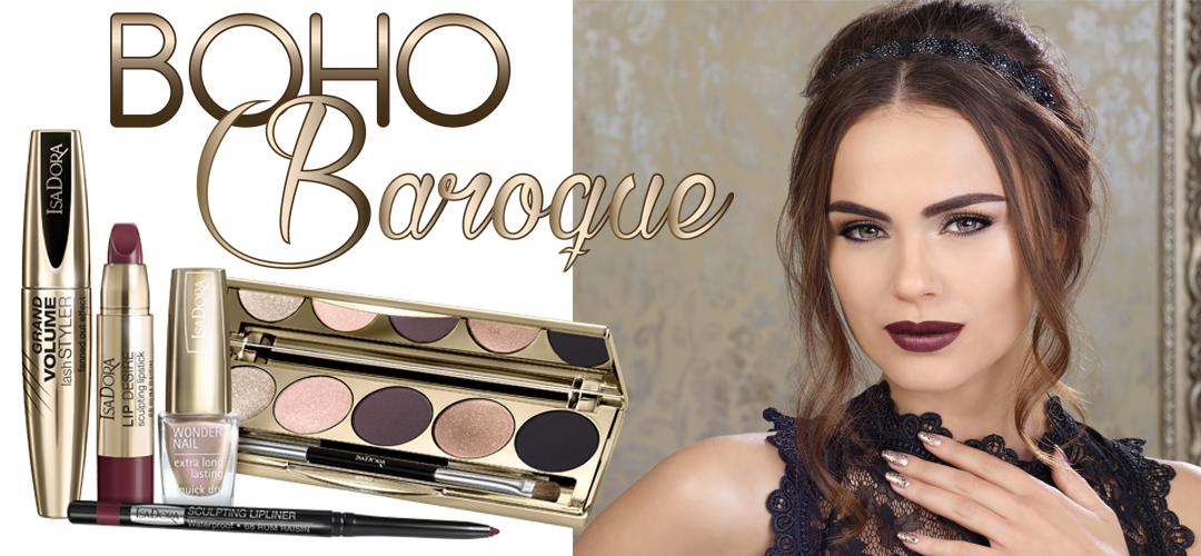 Isadora Holiday Make-up 2016 Boho Baroque